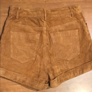 Staring at Stars Shorts - BDG Staring at Stars UO Suede Leather Shorts